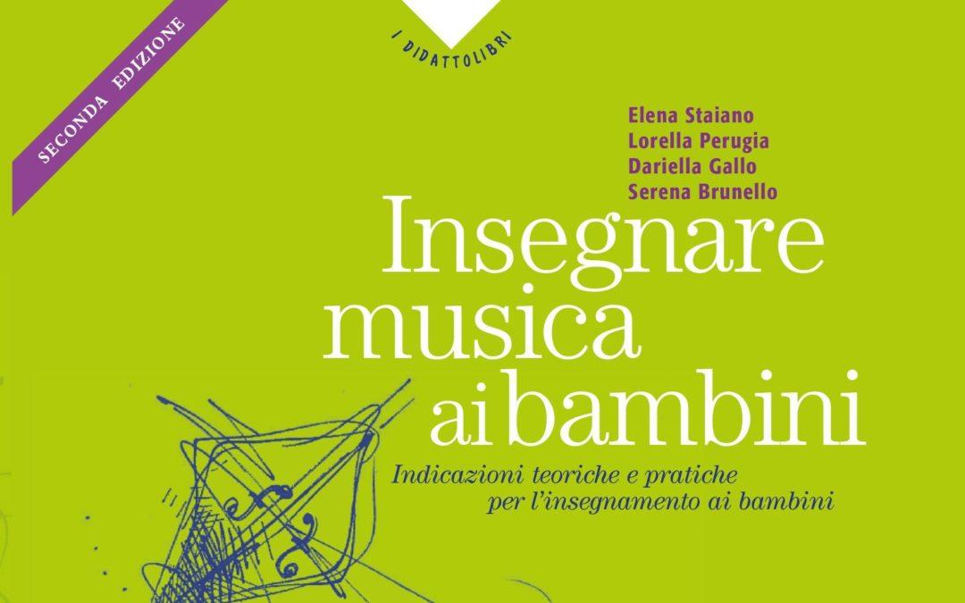 Insegnare musica ai bambini: pubblicata la nuova edizione del manuale con un capitolo sulla fiaba musicale