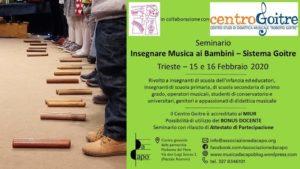 Insegnare musica ai bambini Seminario