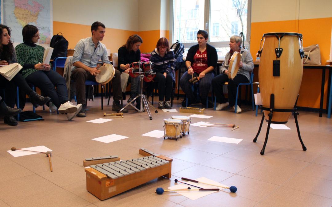 """Iscrizioni aperte per il corso di didattica musicale """"Insegnare musica ai bambini"""" e per il seminario """"Musica dal Corpo"""""""