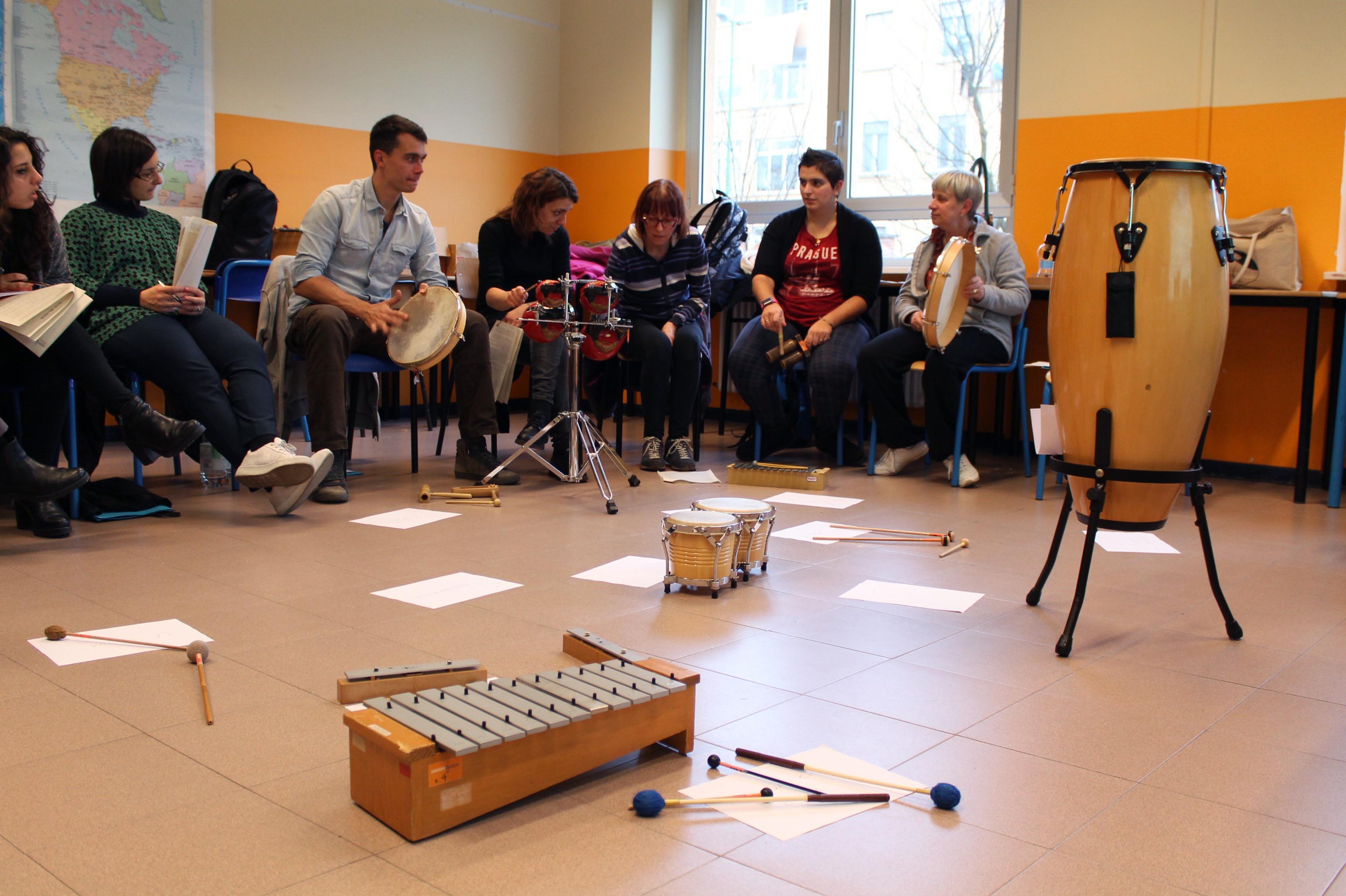 """Corso di didattica musicale """"Insegnare musica ai bambini"""""""