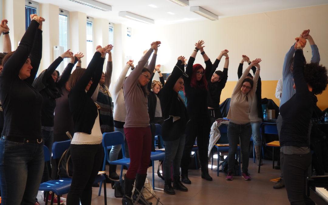 Insegnare musica ai bambini con il Sistema Goitre: voce e movimento