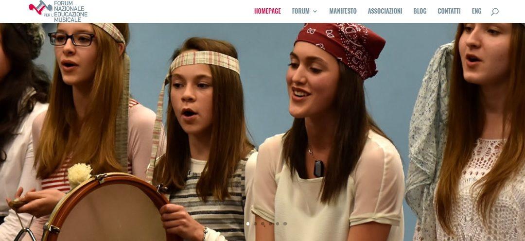 Festa della musica: il Forum Nazionale per l'Educazione Musicale lancia il nuovo sito e il manifesto